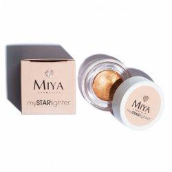 Miya mySTARlighter, naturalny rozświetlacz, sunset glow