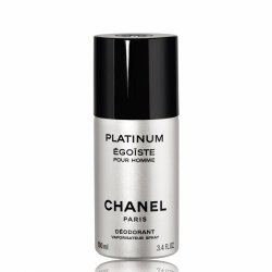Chanel Egoiste Platinum, dezodorant w sprayu dla mężczyzn, 100ml (M)