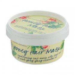 Bomb Cosmetics, maseczka do włosów z olejem Brassica i z orzecha Kukui, Miodowa, 200ml