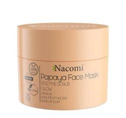 Nacomi, maseczka - peeling enzymatyczny, Papaya, 50ml