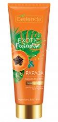 Bielenda Exotic Paradise Papaja, regenerujący balsam do ciała, 250ml