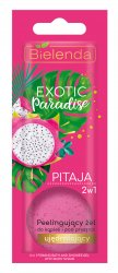 Bielenda Exotic Paradise Pitaja, 2w1 peelingujący żel do kąpieli i pod prysznic