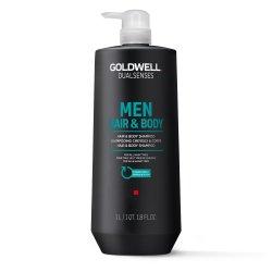 Goldwell Dualsenses For Men, szampon do włosów i ciała, 1000ml