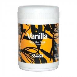 Kallos Vanilla, maska do włosów nabłyszczająca, 1000ml