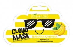 Bielenda Cloud Mask, bąbelkująca maska nawilżająca, Banana, 6g