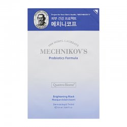 Holika Holika Mechnikov's, rozświetlająca maska do twarzy z probiotykami