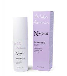 Nacomi Next Level, przeciwzmarszczkowe serum z retinolem 0,5%, 30ml