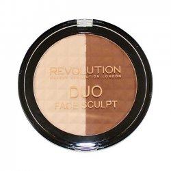 Makeup Revolution, Duo Face Sculpt, zestaw do konturowania twarzy