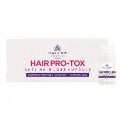 Kallos Pro-Tox, ampułki przeciw wypadaniu włosów, 10ml