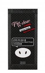 Holika Holika Pig Clear, oczyszczające plastry na nos, 3szt