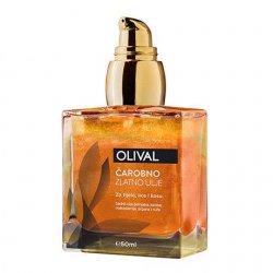Olival, Magical Golden Oil, suchy olejek do twarzy i ciała z drobinkami złota, 50ml