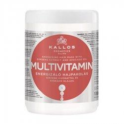 Kallos KJMN Multivitamin, maska do włosów energetyzująca, 1000ml