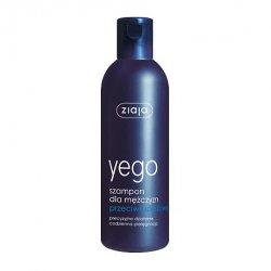 Ziaja Yego, szampon przeciwłupieżowy do włosów dla mężczyzn, 300ml