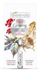 Bielenda Red Ginseng, przeciwzmarszczkowa ampułka silnie odbudowująca, 3ml