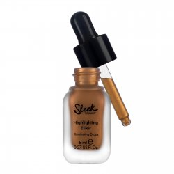 Sleek Makeup Highlighting Elixir, płynny rozświetlacz Sun.Lit (Bronze)