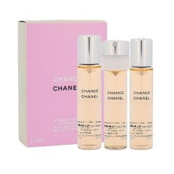Chanel Chance, woda toaletowa, 3x20ml (W)