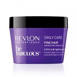 Revlon Be Fabulous, lekka maska do włosów cienkich, 200ml
