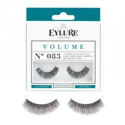 Eylure Volume, sztuczne rzęsy z klejem, efekt pogrubienia, nr 083