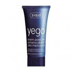 Ziaja Yego, krem przeciw zmarszczkom dla mężczyzn, 50ml