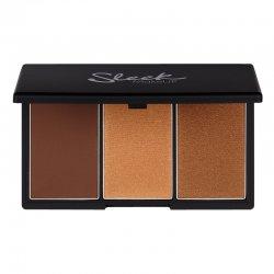 Sleek Makeup, paleta do konturowania twarzy, Dark