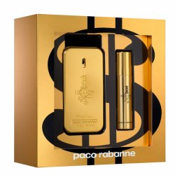 Paco Rabanne 1 Million, zestaw perfum Edt 50ml + 10ml Edt (M)