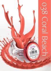 Semilac UV Gel Color 038 Coral Beach, 5ml