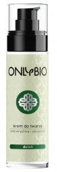 OnlyBio, krem do twarzy na dzień, cera wrażliwa i alergiczna, 50ml