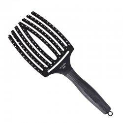 Olivia Garden Finger Brush, szczotka do rozczesywania i masażu, włosie dzika, duża