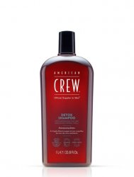 American Crew Detox, szampon oczyszczający z peelingiem, 1000ml