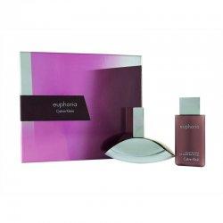 Calvin Klein Euphoria, zestaw perfum Edp 30ml + 100ml Balsam (W)