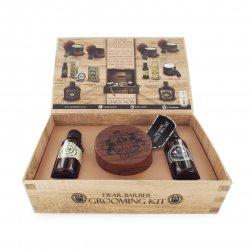 Dear Barber Shave Care Collection, zestaw: krem do golenia 100ml, olejek do golenia 30ml, woda toaletowa 30ml