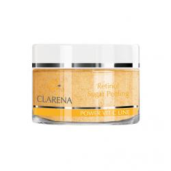 Clarena Vit C Line, Retinol Sugar Peeling, retinolowy peeling cukrowy, 50ml