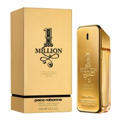 Paco Rabanne Lady Million Absolutely Gold, perfumy, 80ml (W)