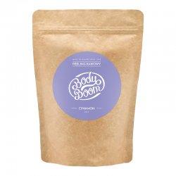 BodyBoom, peeling kawowy do ciała, Cynamon, 200g
