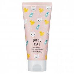 Holika Holika DODO CAT Foam Cleanser, głęboko oczyszczająca pianka