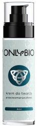 OnlyBio, krem do twarzy na noc, przeciwzmarszczkowy, 50ml