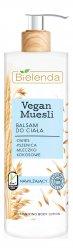 Bielenda Vegan Muesli, nawiżający balsam do ciała, 400ml