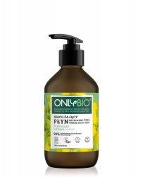 OnlyBio, nawilżający płyn micelarny 3w1, 250ml