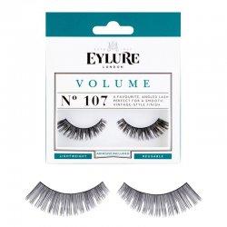 Eylure Volume, sztuczne rz�sy z klejem, efekt pogrubienia, nr 107