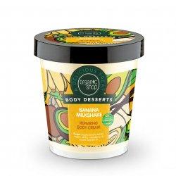 Organic Shop, odbudowujący krem do ciała Shake bananowy, 450ml