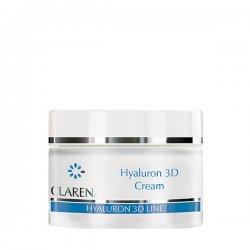 Clarena Hyaluron 3D, ultra nawilżający krem do twarzy, 50ml