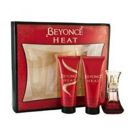 Beyonce Heat, zestaw: perfumy EDP 30ml + 75ml żel pod prysznic + 75ml balsam (W)