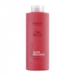 Wella Invigo Brilliance, szampon do włosów normalnych i cienkich, 1000ml