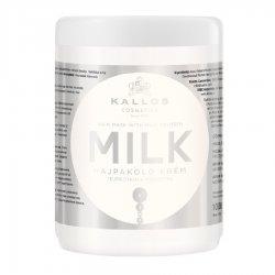 Kallos KJMN Milk, maska odżywcza z proteinami mleka, 1000ml