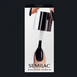 Semilac One Step Hybrid, lakier hybrydowy, 5ml, S190 The Black