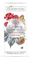 Bielenda Red Ginseng, przeciwzmarszczkowy krem pod oczy wygładzający, 15ml