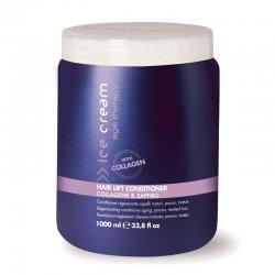 Inebrya Age Therapy Hair Lift, odżywka odbudowująca z kolagenem i szafirem, 1000ml