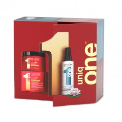 Revlon Uniq One, zestaw maska 300ml + maska w sprayu Kwiat Lotosu 150ml