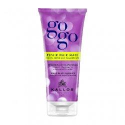 Kallos GOGO, maska regenerująca do włosów suchych i zniszczonych, 200ml