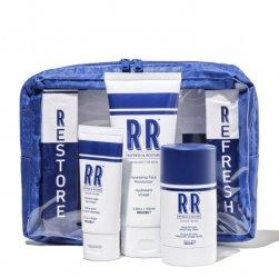 Reuzel Skincare RR, zestaw do pielęgnacji twarzy z kosmetyczką